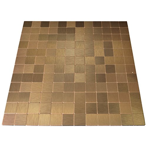 art3d peel and stick tile metal brushed backsplash sticker