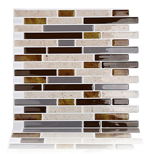 Best X10 Peel N And Stick Backsplash Tile For Kitchen: Magictiles Kitchen Backsplashes Sticker Peel And Stick